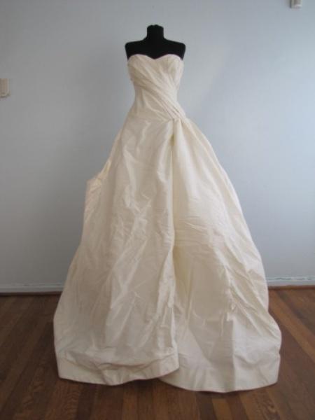 Slideshow something borrowed something new bridal for Vera wang wedding dresses rent