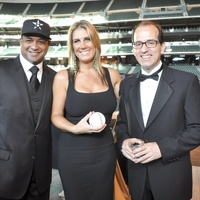 George Postolos Astros Wives gala