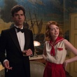 Hamish Linklater and Emma Stone in Magic in the Moonlight