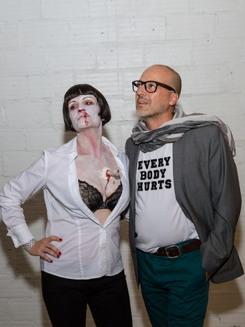 3006 Mandy Trichell and Francesco Conti at Party Like a Rock Star benefiting Planned Parenthood August 2014