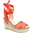 Leslie Espadrille Coral, SJP Collection, Nordstrom