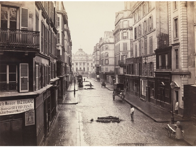 Charles Marville Photographer of Paris at MFAH June 2014 Rue de Constantine