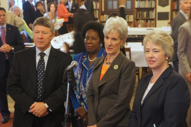 Affordable Care Act Kathleen Sebelius Annise Parker ed Emmett Sheila Jackson Lee