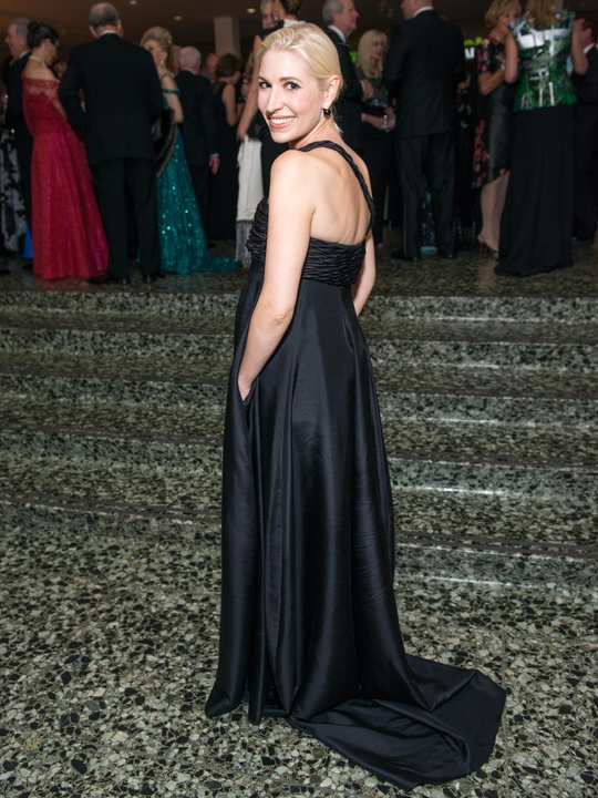 30 Isabel David wearing Narciso Rodriguez at the MFAH Grand Gala October 2014 GOWNS