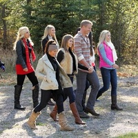 Girls go on group date in Montana on the Bachelor
