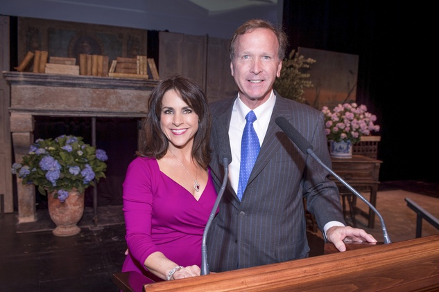 News, Celebration of Reading, Maria Bush, Neil Bush, April 2014
