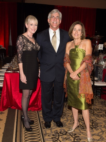 71 Houston Area Women's Center Gala April 2013 Rebecca White, Tom Flanagan, Andrea White