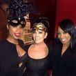 Tina Knowles 60th birthday party in New Orleans January 2014 Kris Jenner middle