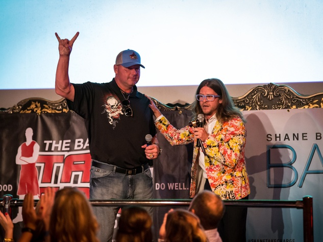 Clutch City Battioke 2015 Roger Clemens and CK Swett
