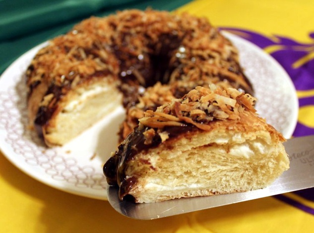 Voodoo king cake Curious Confections