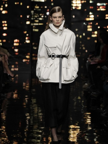 Look 24 Clifford Pugh New York Fashion Week fall 2015 February 2015 Donna Karan