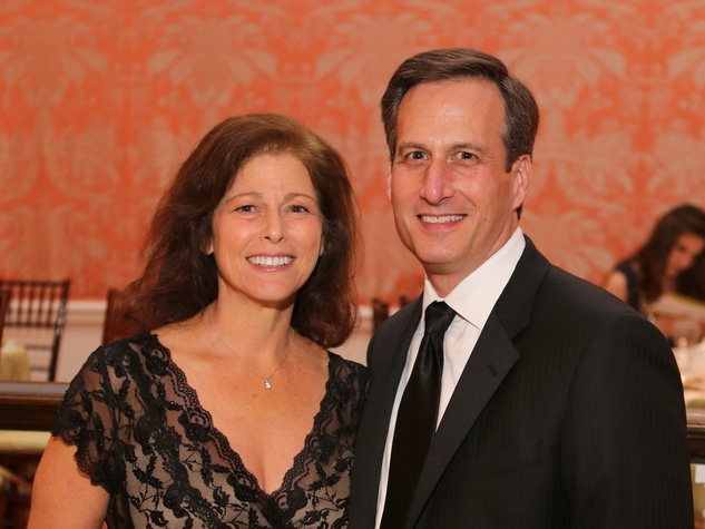 Lisa and David Lyon at the CancerForward Gala May 2014