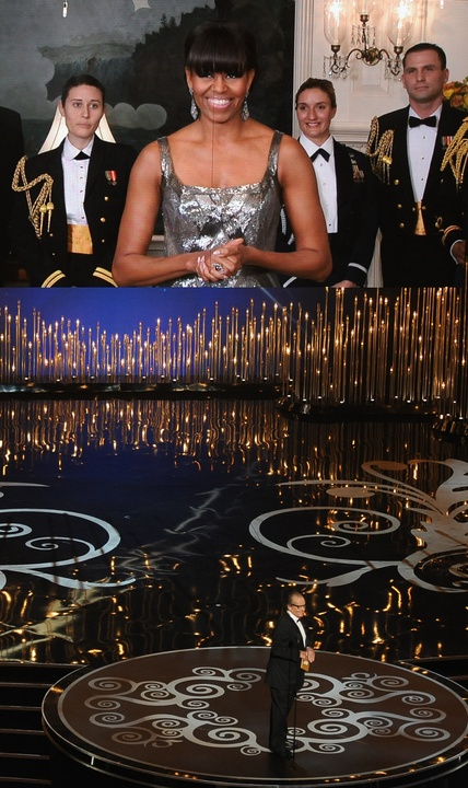 Michelle Obama, Academy Awards, February 2013