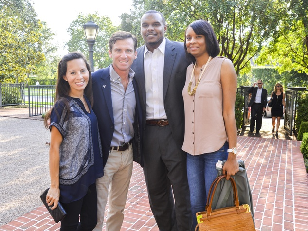 7 DePelchin Children's Center Gala kickoff Claudine Hartland and David Hartland, Chester Pitts and LaToya Pitts