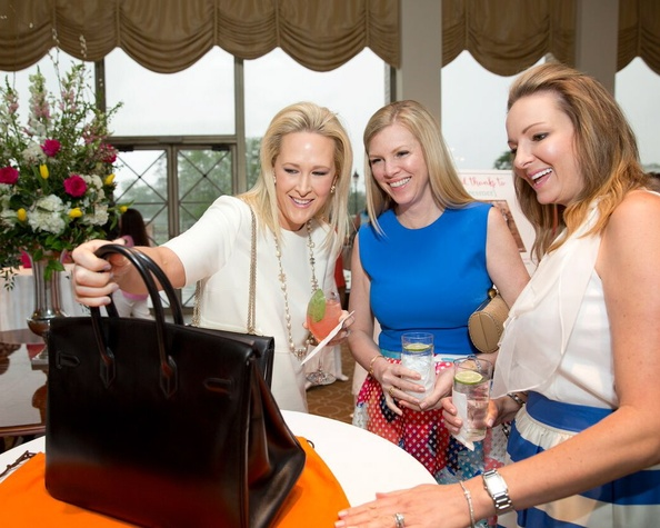 Heroes and Handbags 4/16, Kelly Silvers, Kelli Bridges, Loretta Horowitz