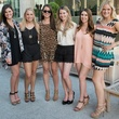 "Kelly Ervine, Haley Finucane, Jordan Liberty, Alyssa Harker, Chelsea Sproles, Sue Schwartz, SJ Loves B ""Glam Up Your Gameday"""