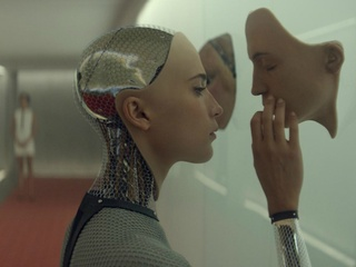 Ex Machina_Alicia Vikander_director Alex Garland_movie still_2015