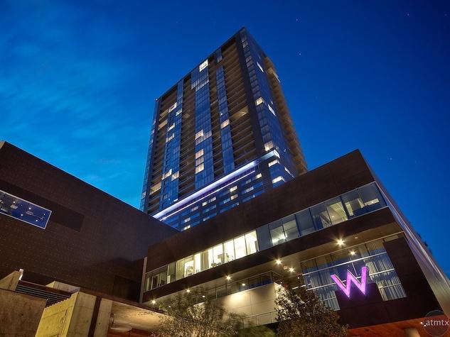 News W Hotel Austin S New