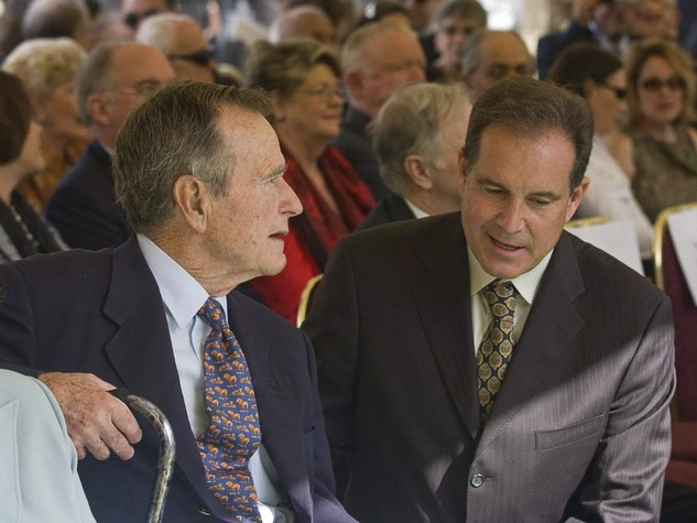 News_Baker Statue_George H.W. Bush_Jim Nantz