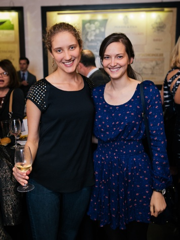 11 Tatiana Fofanova, left, and Stephanie Marten-Ellis at the Artesa wine tasting at Cru March 2014