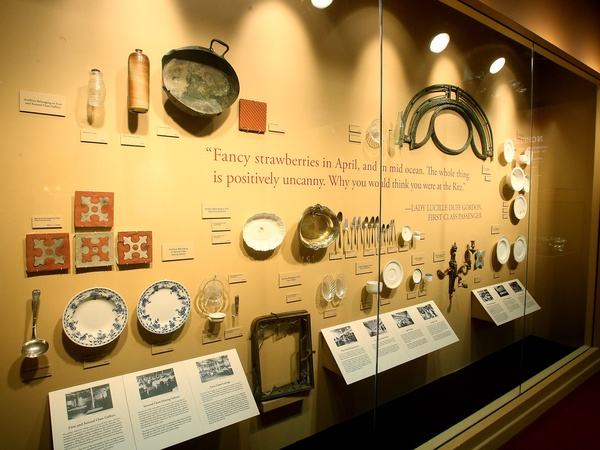 News_Marene_Titanic_Wall of Serving Utensils, Dishes