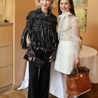 News_Houston Grand Opera_Tony's luncheon_February 2012_Lynn Wyatt_Cynthia Petrello