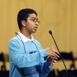 Syamantak Payra at Houston Public Media Spelling Bee