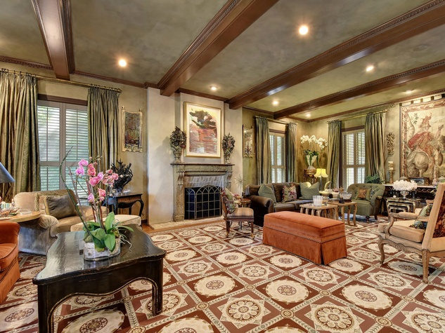 Austin house home Tarrytown 2610 Kenmore Court Ben Crenshaw February 2016 formal sitting