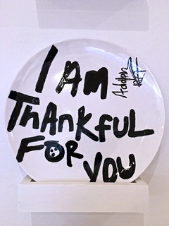 I'm Thankful Plate Project at Cafe Momentum