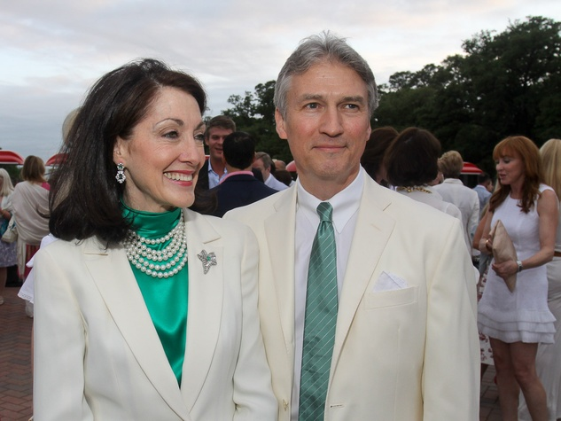 Hermann Park Conservancy Gala April 2013 Susie Criner and Sanford Criner