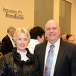 2 Mayor Annise Parker and Wayne Klotz at the mayoral inauguration reception at the Houston Food Bank January 2014