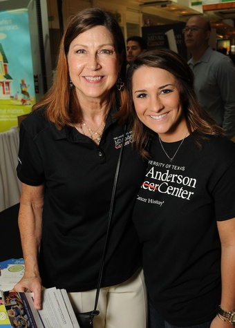 News, Shelby, MD Anderson Back to School, August 2015. Janet McCloskey, Brooke Lovelady
