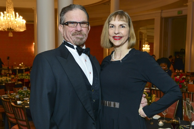 Marshal and Victoria Lightman at the Inprint Poets & Writers Ball February 2014