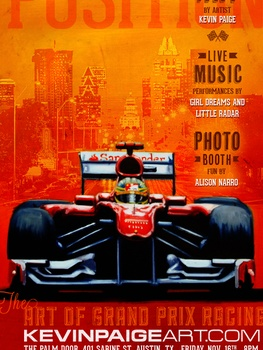 Austin Photo_Events_Pole Position_Poster