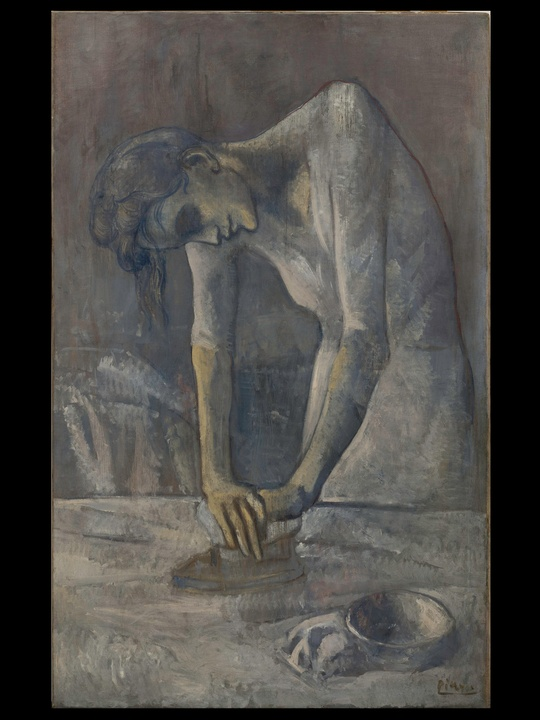 MFAH, Picasso, Woman Ironing