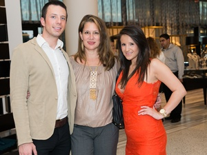 004_Fashion's Night Out, September 2012, Griffin Shields, Elizabeth Rose, Amanda Coleman