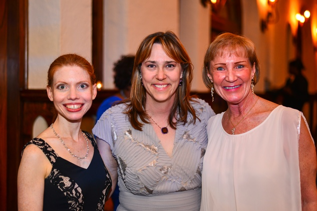 13 Nadine Scamp, from left, Carla Kneipp and Barbara Page at the Santa Maria Gala June 2014