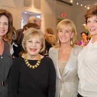 Passion for Fashion kick-off party, November 2012, Amy Rogers, Kay King, Sheridan Williams, Mary Williams