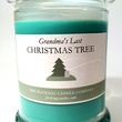 Grandma's Last Christmas Tree scented candle