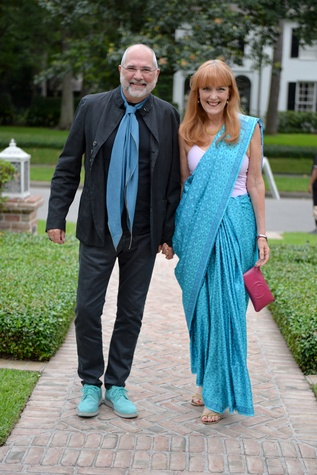 News, Shelby, Recipe for Success Indian dinner, May 2015, Bob and Gracie Cavnar
