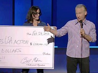 Austin Photo Set: News_Duncan_bill maher_feb 2012_check