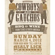 Austin Photo Set: News_Matt_cowboys and gauchos_feb 2012_poster
