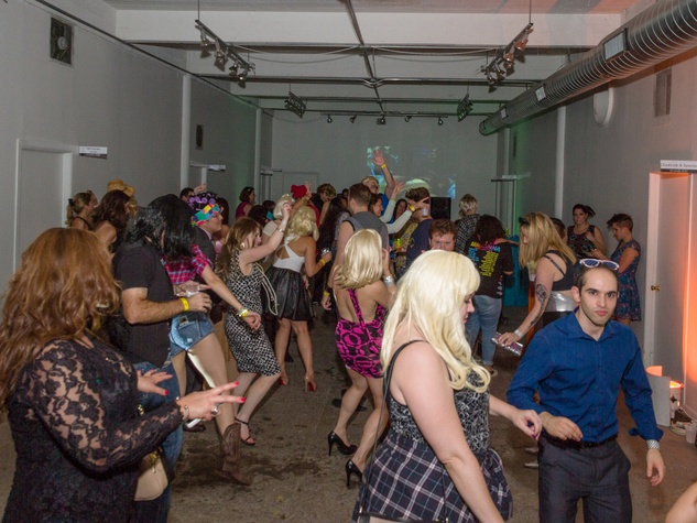 3271 The dance floor at Party Like a Rock Star benefiting Planned Parenthood August 2014