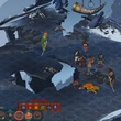 combat screen gameplay of The Banner Saga by Stoic Studio