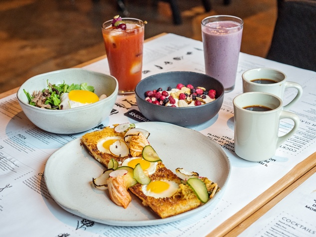 Brunch Spread at The Pass & Provisions