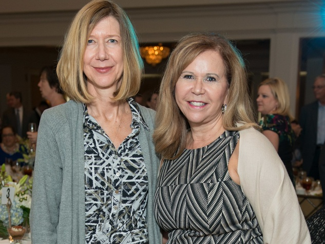 Mission to Mars luncheon 9/16, Kathy Lueders, Cyndy Garza Roberts