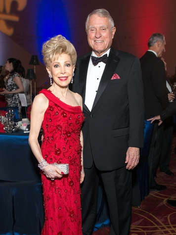 17 Margaret Alkek Williams and Jim Daniel at the Moores School Gala March 2015