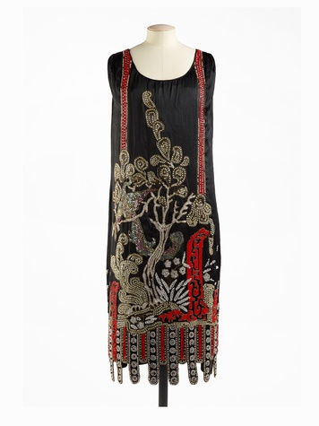 Paris Haute Couture exhibit at the Hotel de Ville June 2013 Jean Patou 1925 - Full Length