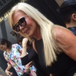 Theresa Roemer at Amir Taghi show at New York Fashion Week
