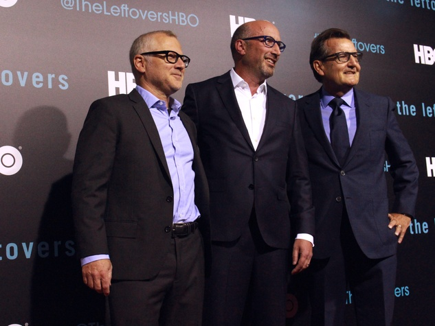 The Leftovers HBO Season 2 red carpet premiere Tom Perrotta Tom Spezialy Gene Kelly October 2015
